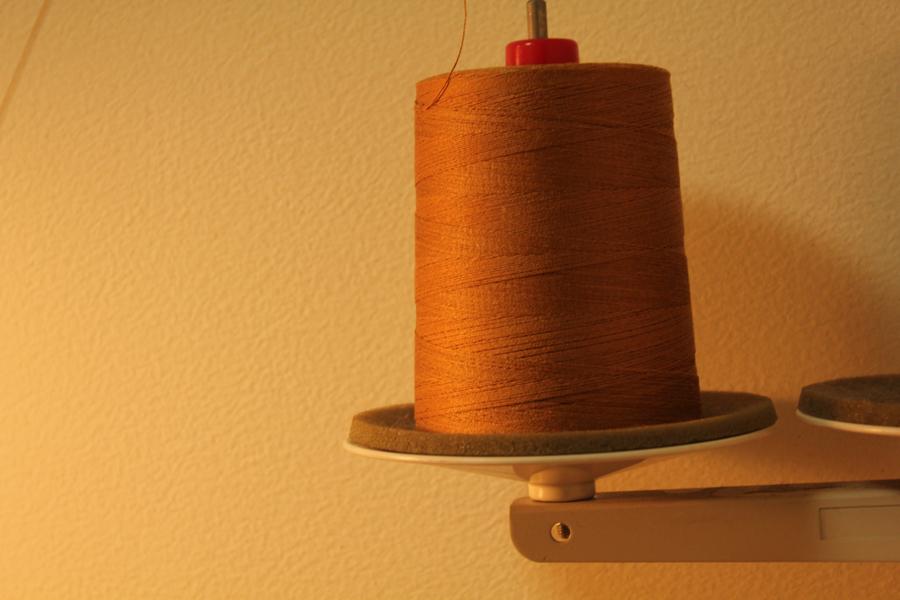 楽しみな縫製糸