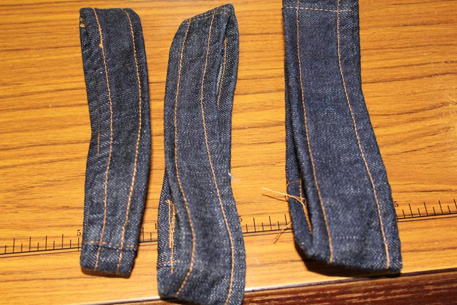 縫製糸の退色テスト(準備編)