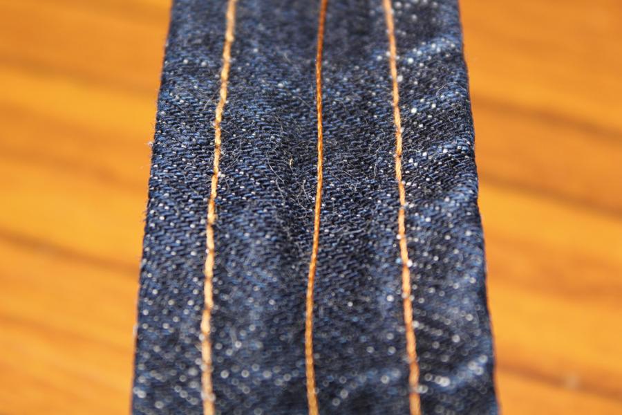縫製糸の退色テスト・1
