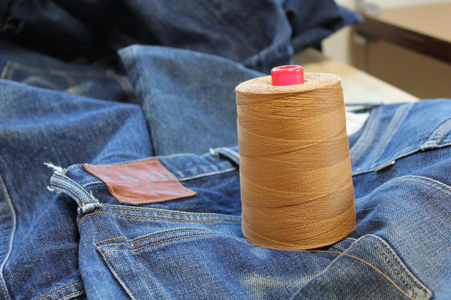 楽しみな縫製糸「リネン糸」