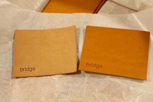 bridge 3rdの革パッチ