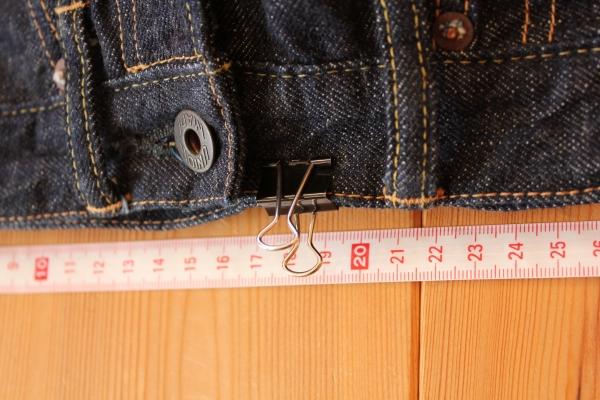 bridge 3rd model のサイズチャートとサイズの測り方