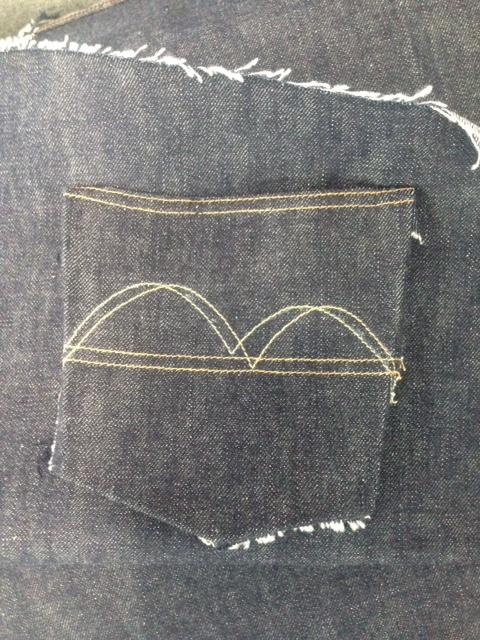 bridge 2nd CR の縫製がスタート