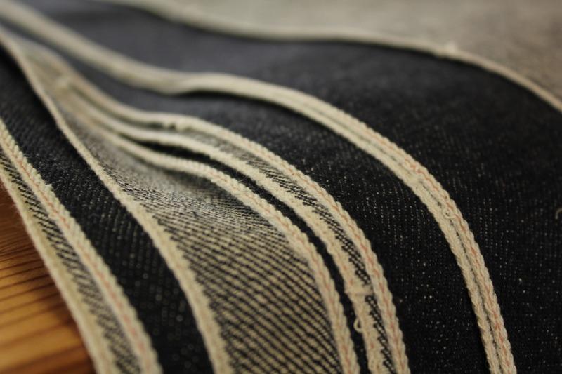 01生地のbridge jeans 生産について