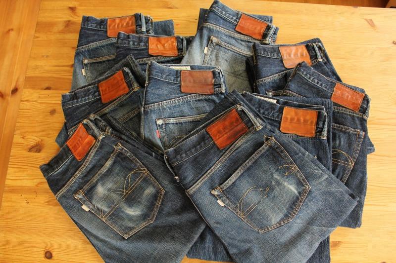 bridge展のジーンズは、リペアしてお返しします。