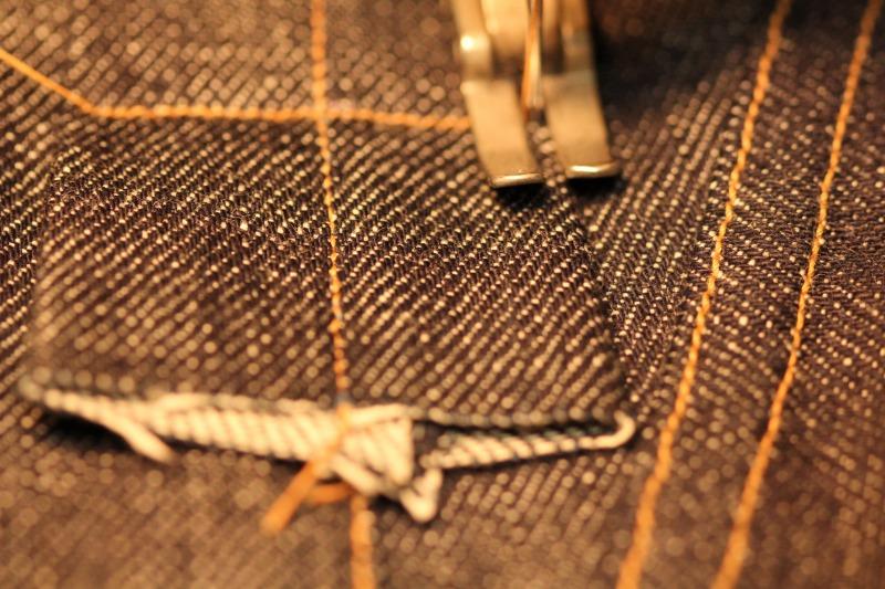 縫製大詰め