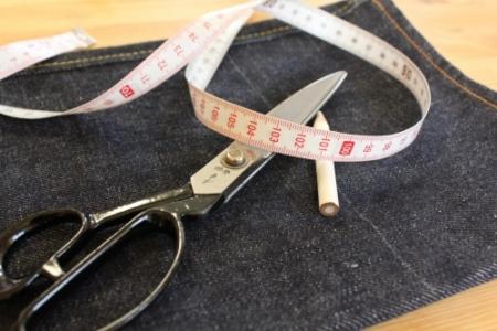 bridge jeansの裾上げについて